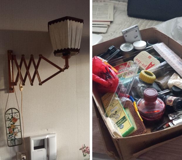 Rotterdam huisontruiming lamp doosje