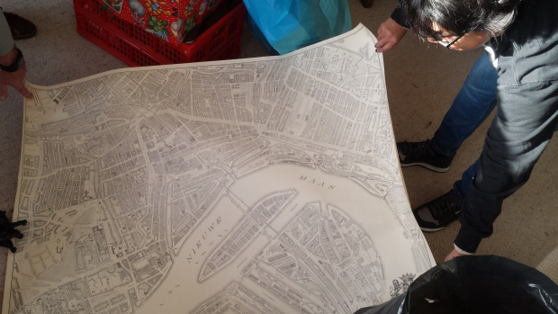Rotterdam plattegrond huisontruiming sneluwwoningontruimen.nl Gina