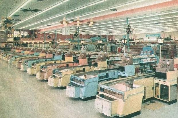 Supermarkt jaren zestig