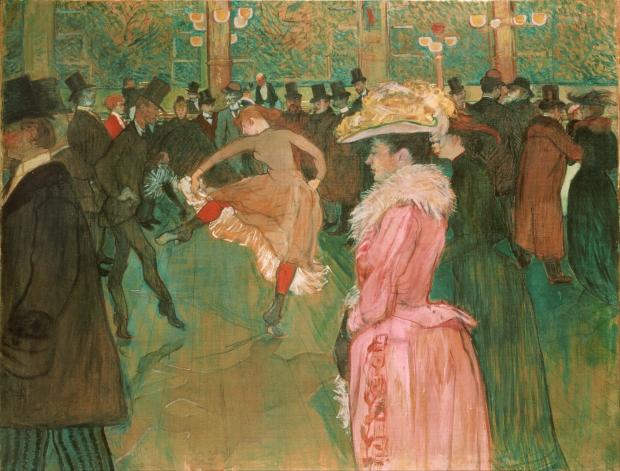 Toulouse Lautrec Moulin Rouge Parijs schilderij