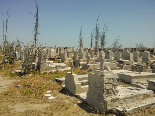 Villa Epecuen begraafplaats go with the vlo