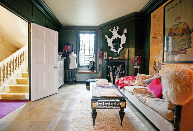 40 Winks hotel Londen vintage huiskamer