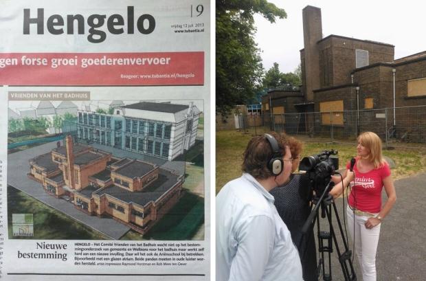 Badhuis Hengelo gered van de sloop