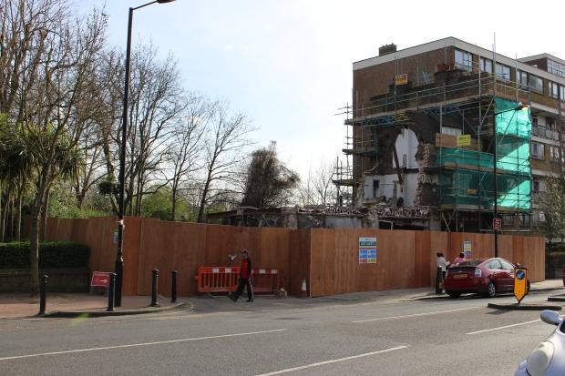 Carlton Tavern sloop gebouw Londen