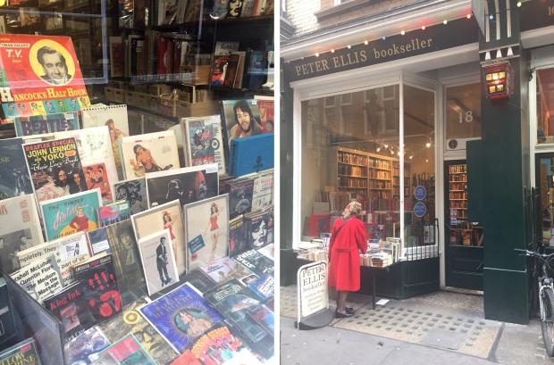 Cecil Court Londen boekhandels boeken lezen