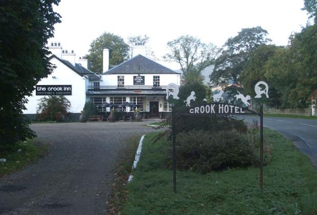 Crook Inn Schotland gered oudste pub