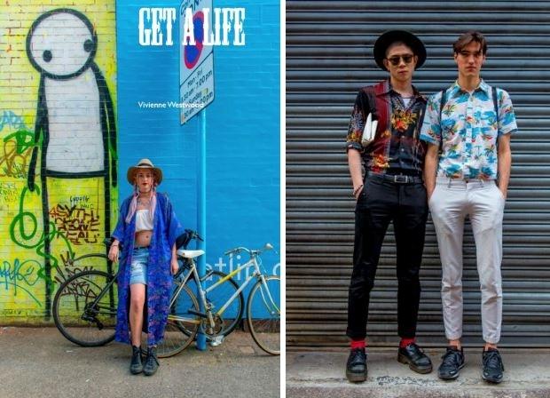 East End Fashionistas Anthony Webb fotoboek mode retro meisje