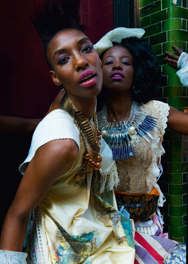 East End Fashionistas Anthony Webb fotografie mode
