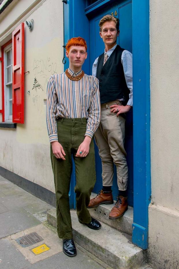East End Fashionistas Anthony Webb jongens mode vintage