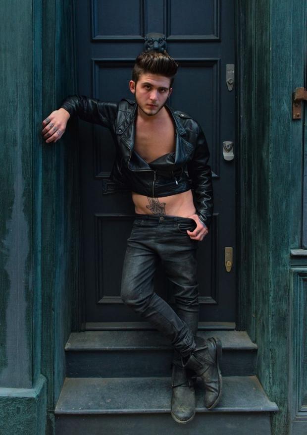 East End Fashionistas rocker mode vintage Londen Anthony Webb