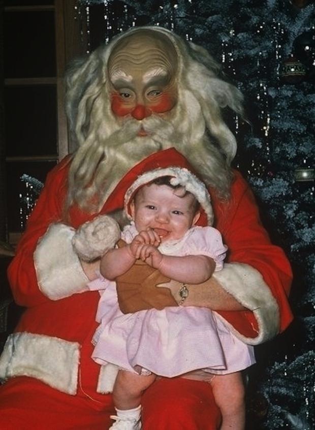 Enge kerstmannen grappig horror griezelen go with the vlo