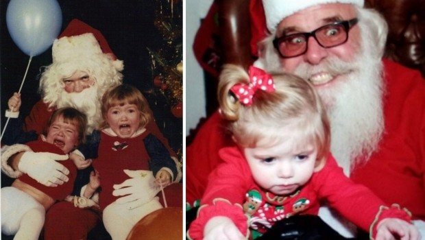 Enge kerstmannen griezelen horror