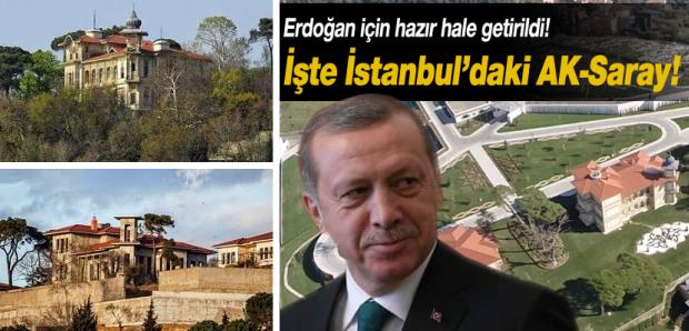 Erdogan Vahdettin Köskü paleis Istanbul sloop go with the vlo wansmaak