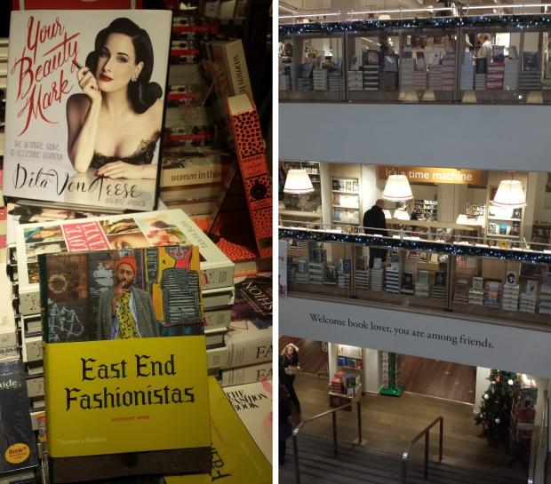 Foyles boekhandel welkom Londen