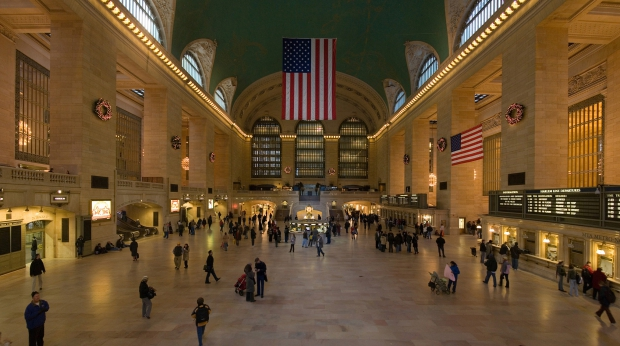 Grand Central Terminal New York behoed voor sloop
