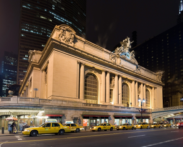 Grand Central Terminal voorkant sloop New York gebouw sloop