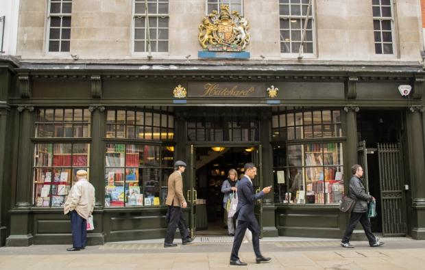 Hatchards Londen boekhandel klassiek
