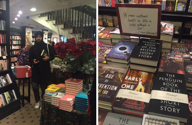 Hatchards boekhandel Londen boeken klassiekers gesigneerd