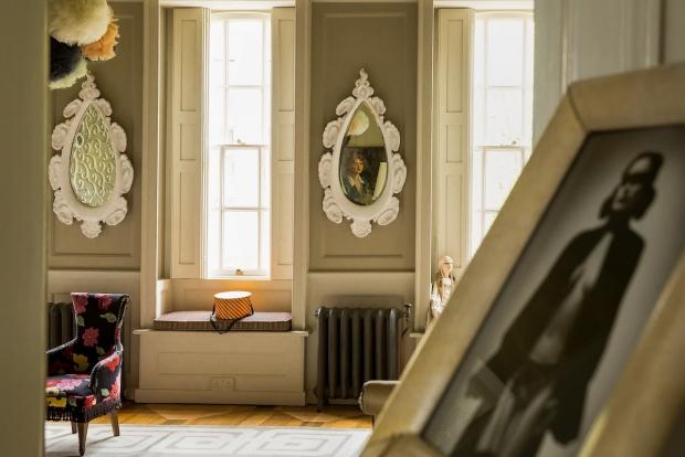 Hotel 40 Winks Londen muziekkamer go with the vlo