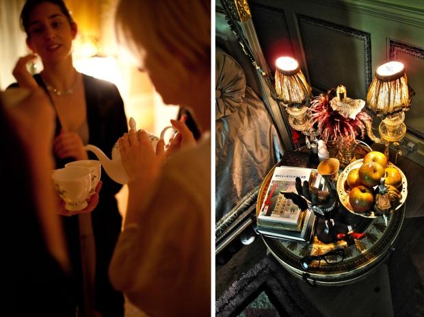 Hotel 40 Winks feestjes Londen hapje drankje vintage