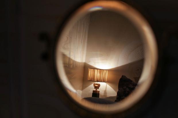 Hotel 40 Winks slaapkamer Londen vintage bed