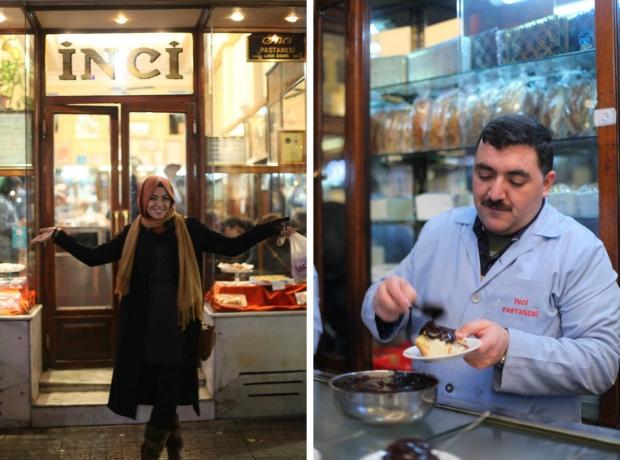 Inci Pastanesi Istanbul sluiting profiterole go with the vlo