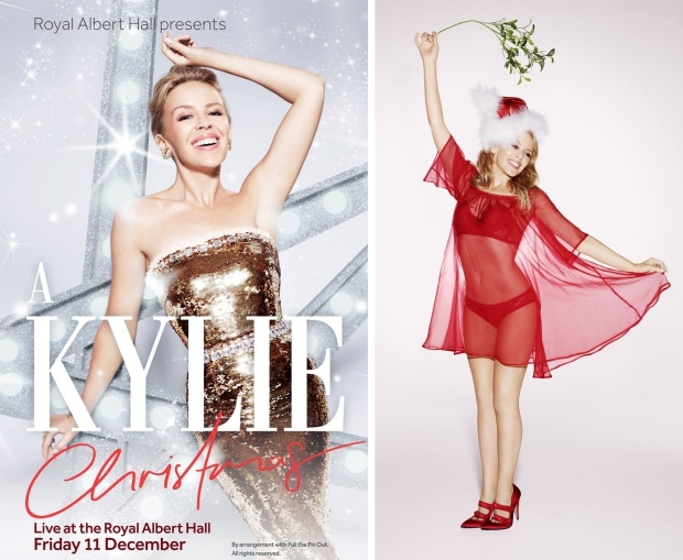 Kylie Christmas Royal Albert Hall Londen kertsmis