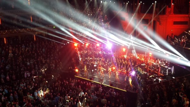 Kylie Christmas Royal Albert Hall kerstmis concert Londen