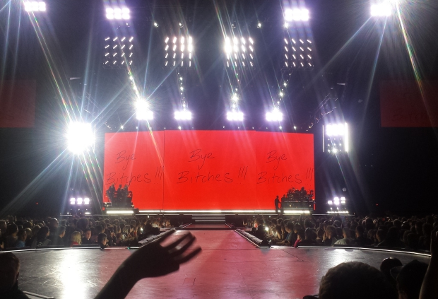 Madonna Amsterdam podium afscheid tournee go with the vlo