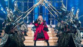 Madonna kwam, babbelde en overwon
