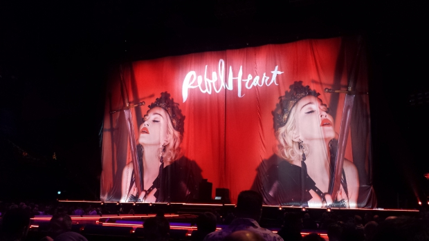Madonna concert Amsterdam opening