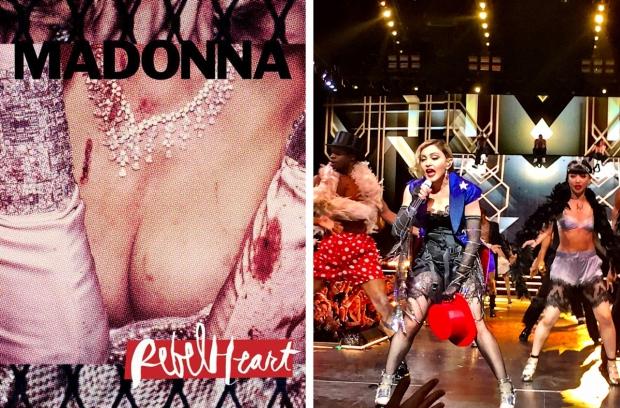 Madonna tour programma borsten Nederland
