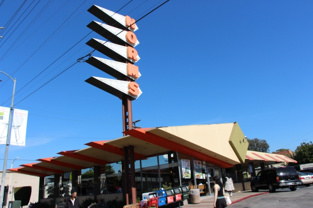 Norms Diner sloop Los Angeles gered