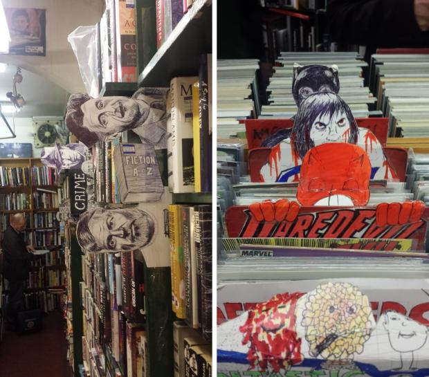 Notting Hill boekhandel Londen Book & Comic Exchange boeken lezen tweedehands