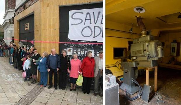 Odeon Cinema behouden sloop gebouw Engeland