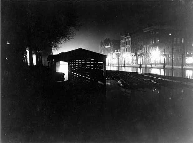 Oud Rotterdam bij nacht grachten go with the vlo