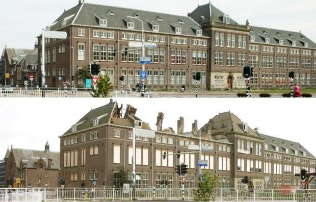 Raakspoort schoolgebouw