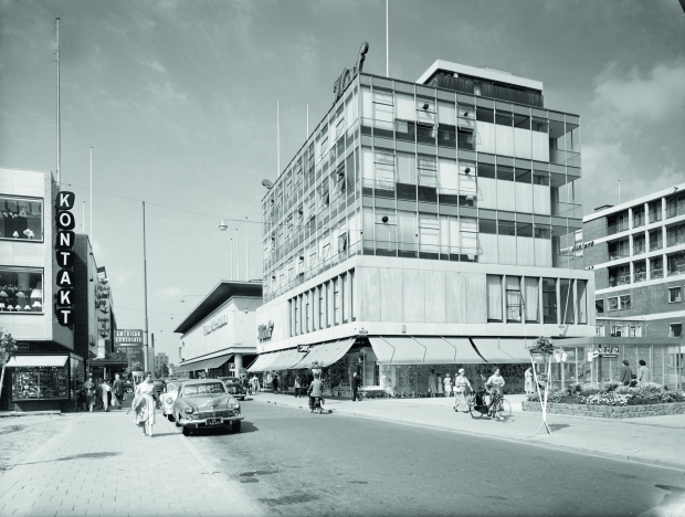 Rotterdam wederopbouw Huf