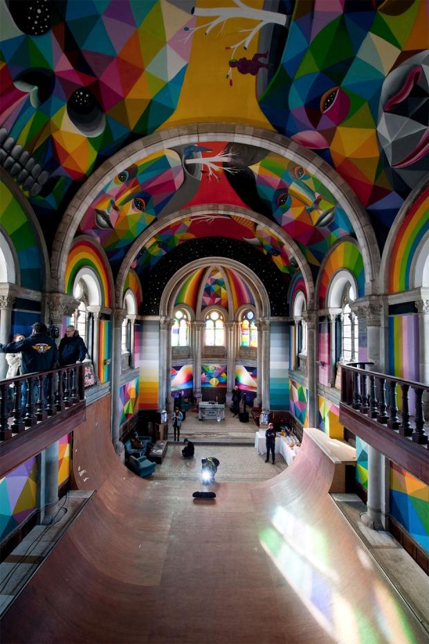 Spanje kerk skaten herbestemming licht