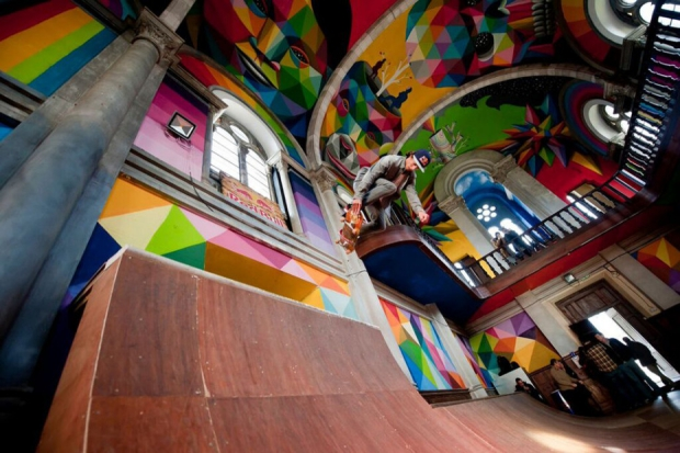 Spanje kerk skaten herbestemming