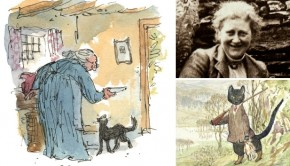 Beatrix Potter The Tale of Kitty-in-Boots boek go with the vlo