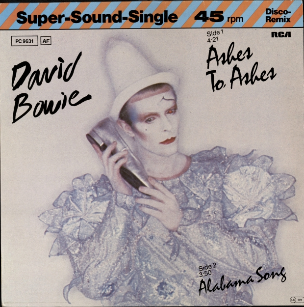 David Bowie Ashes to Ashes go with the vlo