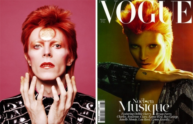 David Bowie Kate Moss Vogue