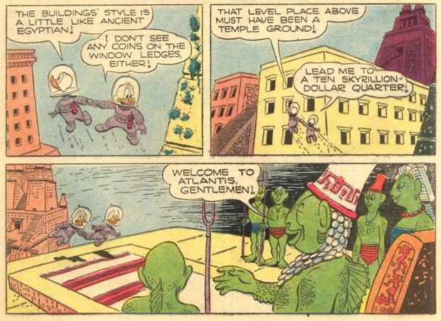 Donald Duck Atlantis 1954 go with the vlo