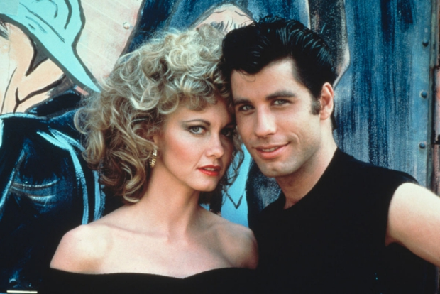 Grease Olivia Newton John John Travolta go with the vlo