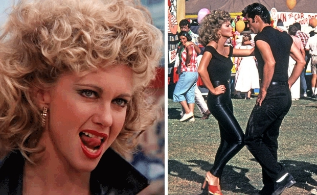 Grease Olivia Newton-John kermis go with the vlo