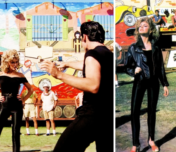 Grease Olivia en John You're the One that I want go with the vlo liefde