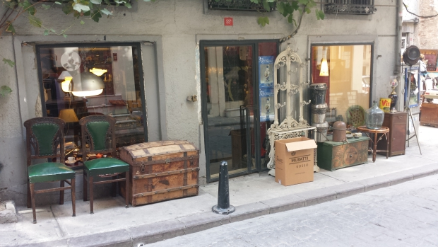 Istanbul antiekbuurt go with the vlo