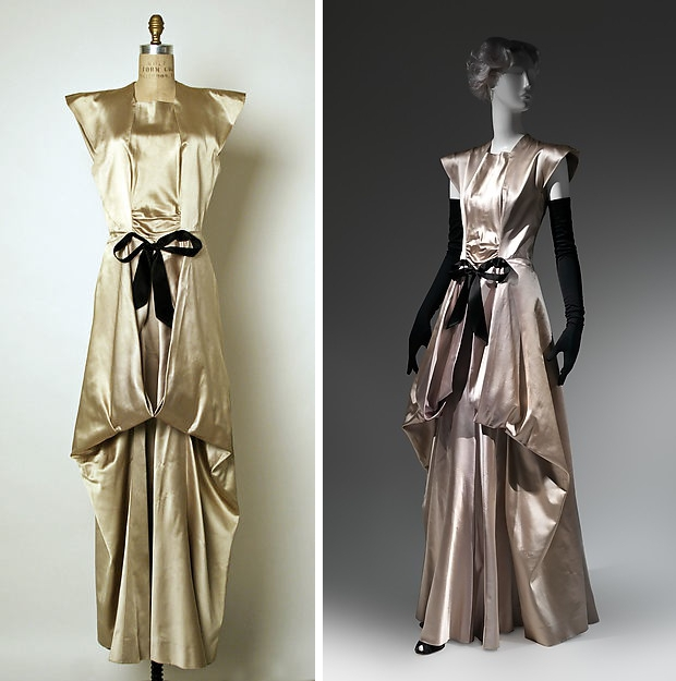 The Met Charles James feestjurken go with the vlo 1945