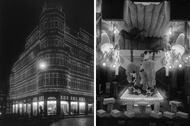 Francois Henri van Dijk C&A V&D Rotterdam avond 1929 go with the vlo 2